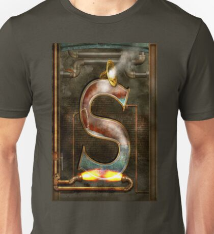 Steampunk - Alphabet - S is for Steam Unisex T-Shirt