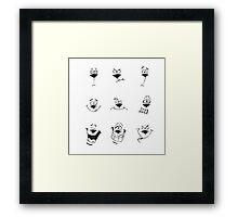 Expression - Dog Framed Print