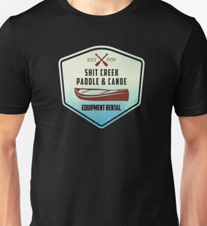 Paddle & Canoe Equipment Rental Unisex T-Shirt