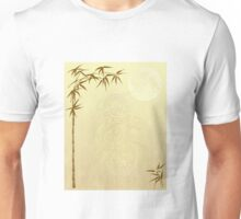 Chinese Dragon and Bamboo Unisex T-Shirt