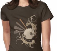 Pearl of the sea Womens Fitted T-Shirt