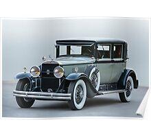 1929 Cadillac 341B Town Sedan Poster