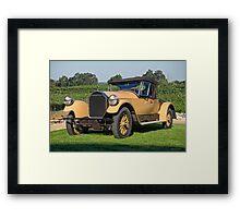 1928 Pierce-Arrow 33 Runabout Framed Print
