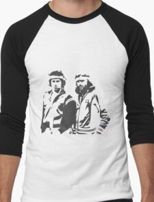 McEnroe / Borg Men's Baseball ¾ T-Shirt
