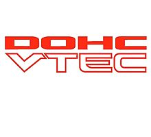 DOHC VTEC Honda Sticker by fadouli