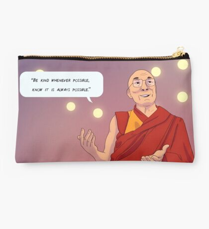 Wisdom from the Dalai Lama Studio Pouch