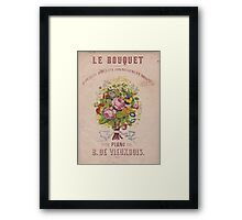 Le Bouquet Framed Print