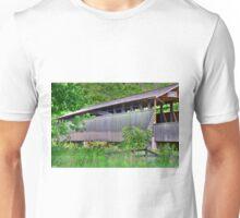 Claycolmb Reynoldsdale Covered Bridge Unisex T-Shirt