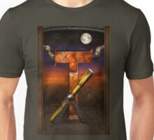 Steampunk - Alphabet - T is for Telescope Unisex T-Shirt