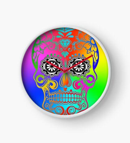 Sugar Skull - Calavera Clock