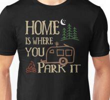 RV Camping Home Unisex T-Shirt