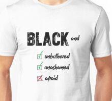 """Black and"" Unisex T-Shirt"