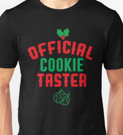 Official Cookie Tester Unisex T-Shirt
