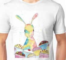 Baking Bunny by Peppermint Art Unisex T-Shirt