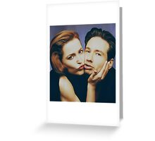 The Schmoopies - Gillian and David painting Greeting Card