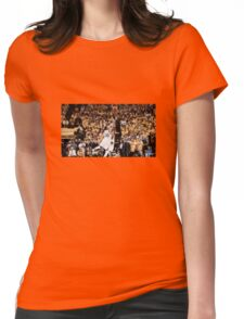 Irving over Curry clincher Womens Fitted T-Shirt