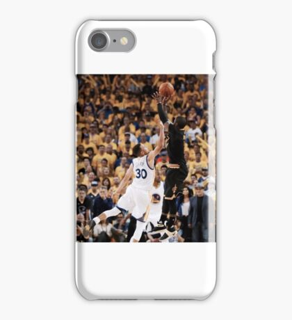 Irving over Curry clincher iPhone Case/Skin