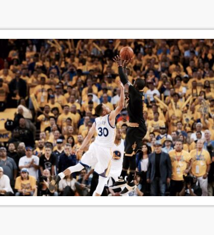Irving over Curry clincher Sticker