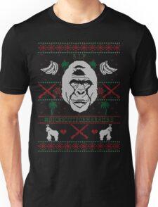 Harambe Ugly Christmas Sweater Unisex T-Shirt