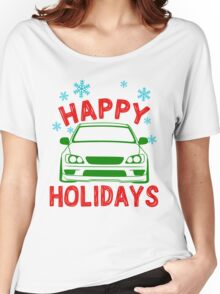 happy holidays - is300 Women's Relaxed Fit T-Shirt
