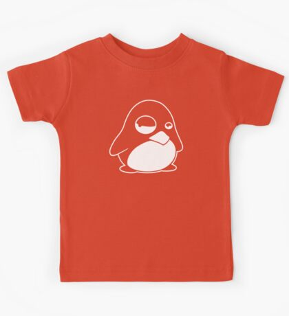 TUX Penguin in a bad mood, LINUX  Kids Tee