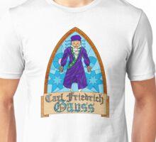 Vidriera Carl Friedrich Gauss Unisex T-Shirt