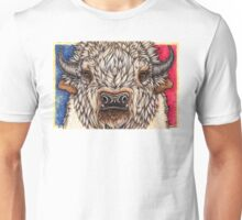 White Buffalo Calf Unisex T-Shirt