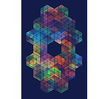 Extra Dimensional Cubes Photographic Print