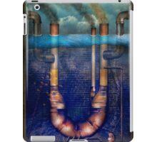 Steampunk - Alphabet - U is for Underwater Utopia iPad Case/Skin