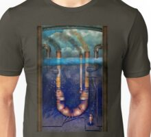 Steampunk - Alphabet - U is for Underwater Utopia Unisex T-Shirt