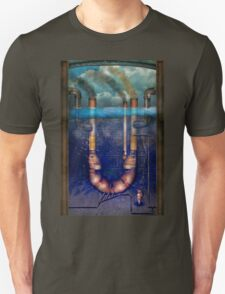 Steampunk - Alphabet - U is for Underwater Utopia T-Shirt