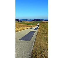 Country road into nothing particular | landscape photography Photographic Print