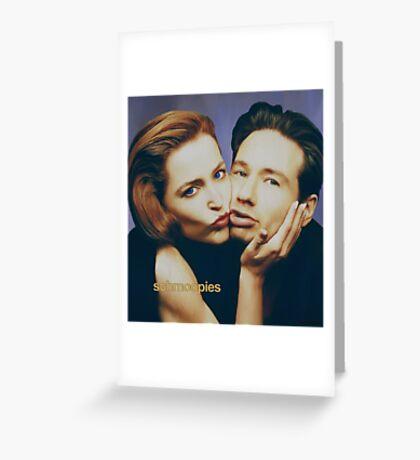 The Schmoopies - Gillian and David painting Greeting Card