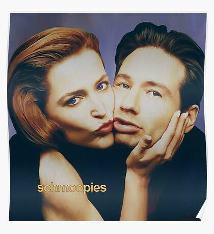 The Schmoopies - Gillian and David painting Poster