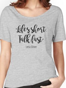 Gilmore Girls - Life's Short Women's Relaxed Fit T-Shirt