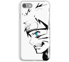 Naruto black e white iPhone Case/Skin