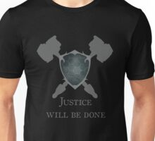Reinhardt - Justice Will be Done Unisex T-Shirt