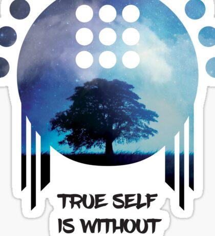 Zenyatta - True Self is Without Form Sticker