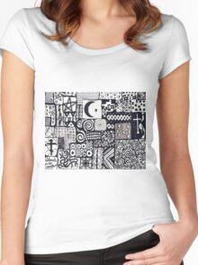 Sarajevo! Women's Fitted Scoop T-Shirt