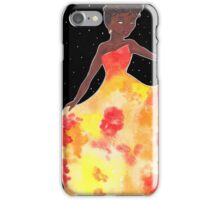Sun Goddess Mixed Media iPhone Case/Skin