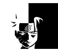 Naruto e Sasuke  Photographic Print