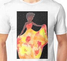 Sun Goddess Mixed Media Unisex T-Shirt