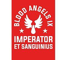 Blood Angels IX - Warhammer Photographic Print