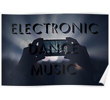 Electronic Dance Music Poster