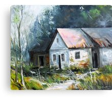 Abandoned farm house Canvas Print