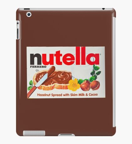 nutella iPad Case/Skin
