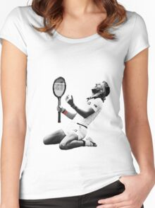 Björn Borg Women's Fitted Scoop T-Shirt