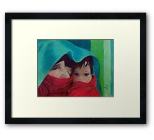Mother with Child Framed Print