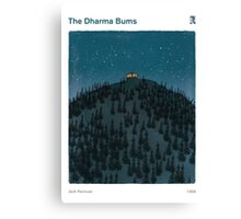 Jack Kerouac - The Dharma Bums Canvas Print
