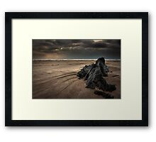 Sand Talk Framed Print